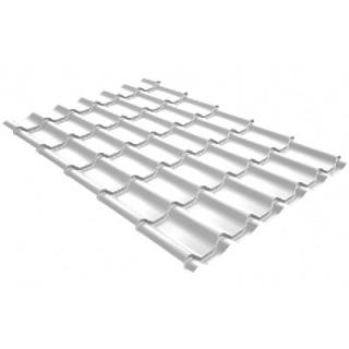 Металлочерепица Grand Line Kvinta Plus 3D Satin 0,5 мм RAL 9003