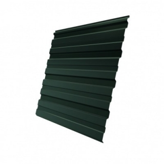 Профнастил HC35 Grand Line GreenCoat Pural 0,5 мм RAL 6020
