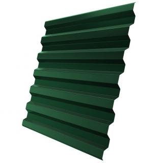Профнастил стеновой C21-1120 0,4 мм RAL 6005