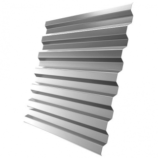 Профнастил стеновой C21-1120 0,45 мм Оцинкованный