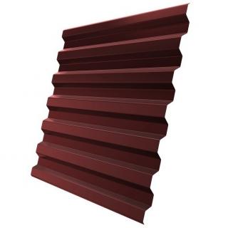 Профнастил стеновой C21-1120 0,5 мм RAL 3009