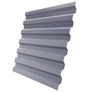 Профнастил стеновой C21-1120 0,5 мм RAL 7004