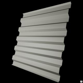Профнастил стеновой C21-1120 0,5 мм RAL 9002