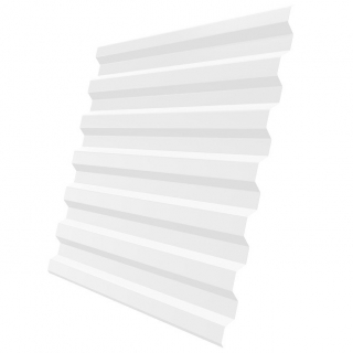 Профнастил стеновой C21-1120 0,45 мм RAL 9003