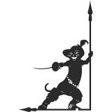 Флюгер «Кот в сапогах»