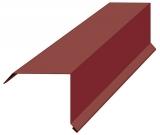 Планка торцевая для металлочерепицы